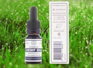 Endoca – Hemp Oil 3% | 10 ml <br>  Olej CBD, 300 mg CBD