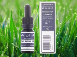 Endoca – Raw Hemp Oil 3% | 10 ml <br>  Olej CBD, 300 mg CBD
