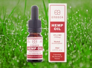 Endoca – Hemp Oil 15% | 10 ml <br>  Olej CBD, 1500 mg CBD