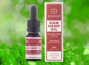 Endoca – Raw Hemp Oil 15% | 10 ml <br>  Olej CBD, 1500 mg CBD