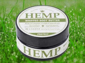 Endoca – Hemp Whipped Body Butter | 100 ml  Konopne masło do ciała, 1500 mg CBD