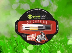 OpenVape – CBD Cartridge Pineapple Express | 0,30 g  Wkład do waporyzatora, 100 mg CBD