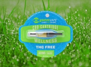 OpenVape – CBD Cartridge Wellness | 0,50 g  Wkład do waporyzatora, 300 mg CBD