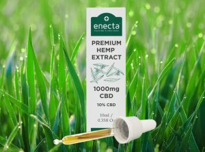 Enecta – CBD Oil 10% | 10 ml <br> Olej CBD, 1000 mg CBD