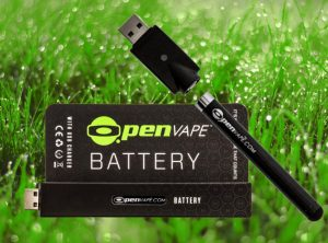 OpenVape – Battery Black |  Bateria czarna